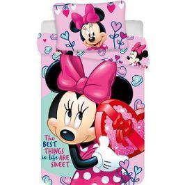 Jerry Fabrics povlečení do postýlky - Minnie pink baby