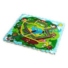 Teddies Pěnové puzzle Město
