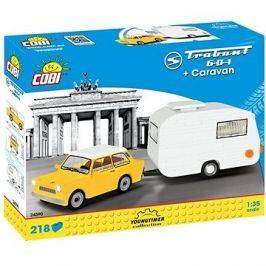 Cobi Trabant 601 s karavanem