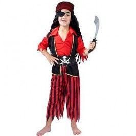 Kostým Pirát červený vel. M