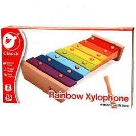 Duhový xylofon