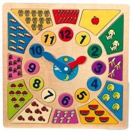 Vkládací výukové puzzle - Nauč se hodiny