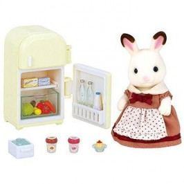 Sylvanian Families Nábytek chocolate králíků – mamka u ledničky