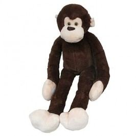 Plyšová opice dlouhá ruka 100 cm, tmavě hnědá
