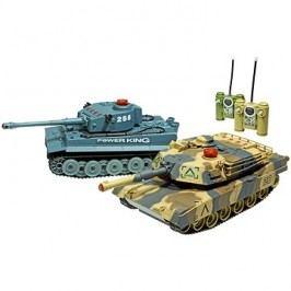Bitevní set Tiger a Abrams - 2 tanky