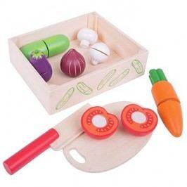 Bigjigs Krájení zeleniny v krabičce