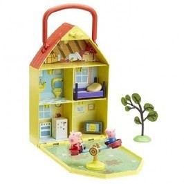 Prasátko Peppa - Domeček se zahrádkou + figurka a příslušenství