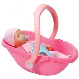 My Little BABY Born Super Soft s přenosnou sedačkou