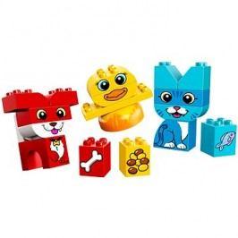 LEGO DUPLO My First 10858 Moji první skládací mazlíčci