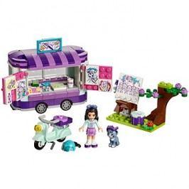 LEGO Friends 41332 Emma a její umělecký stánek