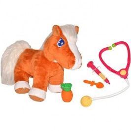 Uzdravený koník, malý veterinář