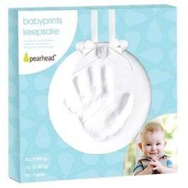 Pearhead Otisk ručičky bílý