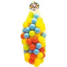 Dolu Barevné plastové míčky větší - 100 ks