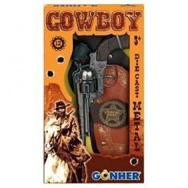 Kovbojská sada Revolver + šerifská hvězda