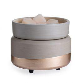 Elektrická aromalampa a ohřívač svíček Midas  béžová