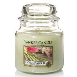 YC svíčka ve skle Lemongrass Ginger střední  zelená