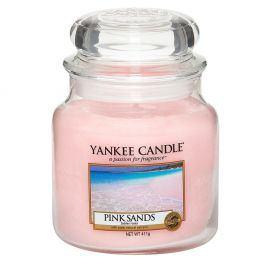 YC svíčka ve skle Pink Sands střední  růžová