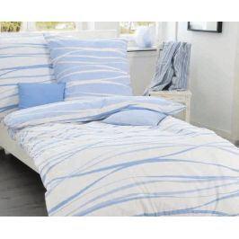 Povlečení Motion modré 140x200 jednolůžko - standard bavlna