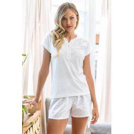 Dámské pyžamo Itaca krátké  bílá