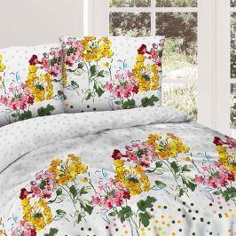 Povlečení Flower garden 140x200 jednolůžko - standard bavlna