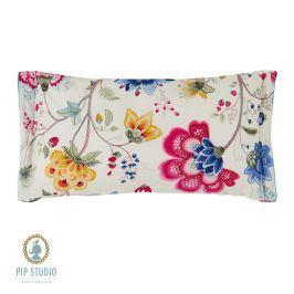 Obdélníkový polštář Floral Fantasy ecru 35x60 cm barevná