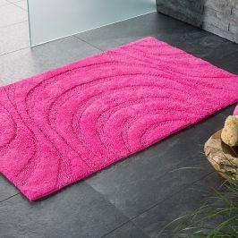 Koupelnová předložka Jaipur růžová 60x100 cm růžová