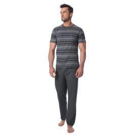 Pánské pyžamo ROSSLI Absalon  šedá