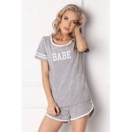 Dámské pyžamo Babe krátké  šedá