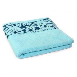 Ručník Fiore modrý 50x90 cm Ručník