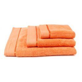 Ručník mikrobavlna oranžový 50x100 cm Ručník