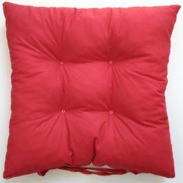 Podsedák červený 40x40 cm červená