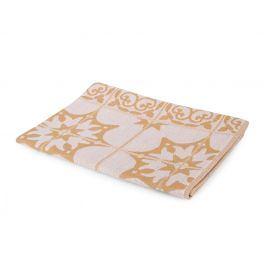 Kuchyňská utěrka Mozaika béžová 50x70 cm béžová