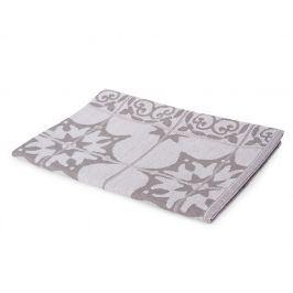 Kuchyňská utěrka Mozaika šedá 50x70 cm šedá