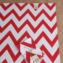 Utěrka Home Design červená 50x70 cm červená