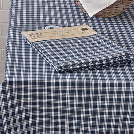 Ubrus Home Design modrá kostička 140x180 cm modrá