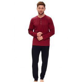 Pánské pyžamo Oskar  červená