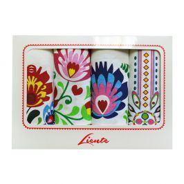 Set kuchyňských utěrek Folk 50x65 cm bavlna