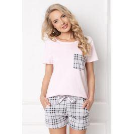Dámské pyžamo Londess krátké  růžovošedá