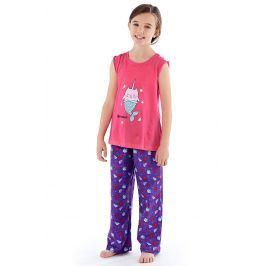 Dívčí pyžamo Mermaid  barevná