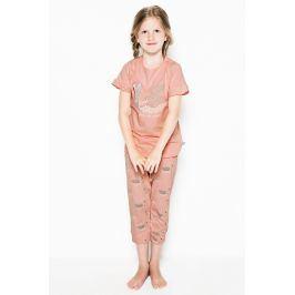 Dívčí pyžamo Swans  vícebarevná