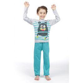 Chlapecké pyžamo Lenny Sky  Garcon  modročervená
