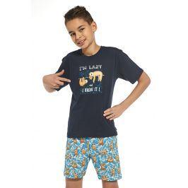 Chlapecké pyžamo I am lazy  nám.modrá