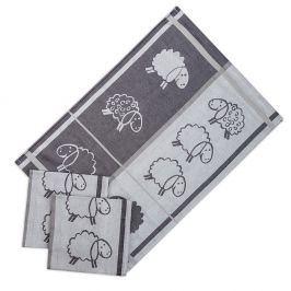 Set kuchyňských utěrek Ovečky 50x70 cm bavlna