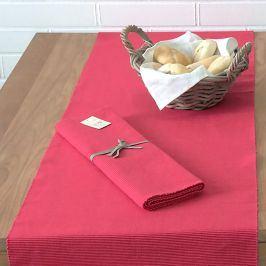 Běhoun na stůl Home Design červený 45 x 150 cm červená