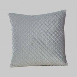 Povlak na polštářek Velvet šedý 40x40 cm polyester