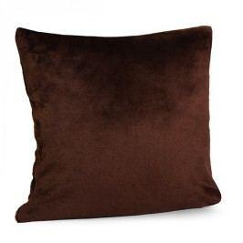 Povlak na polštářek Kašmír hnědý 40x40 cm polyester