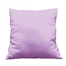 Povlak na polštářek Uni světle fialový 40x40 cm Bavlněný satén