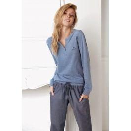 Dámské pyžamo Alice modré  modrá