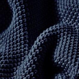 Pletený pléd Marc O´Polo Nordic Indigo 130x170 cm modrá