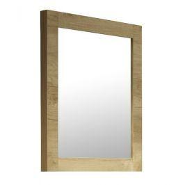 Zrcadlo Naturel 60 x 80 cm, dub masiv ZMDUB6080